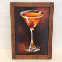 星野哲朗「Cocktail Manhattan」hoshino tetsuro(原画)