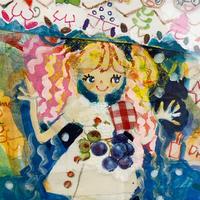 田村セツコ「ヘンテコな夢」原画  tamura setsuko