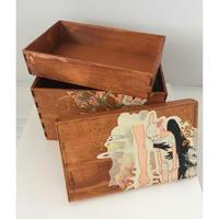 深谷良一作品「真澄の空 木箱」