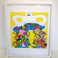 山崎若菜「inner flower」ジークレー版画 wakana yamazaki