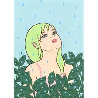 """竹井千佳「カモフラージュ」/""""camouflage"""" 原画 chika takei"""