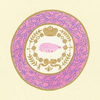 藤本巧「悩める魚のアシェット」原画