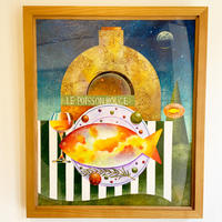 星野哲朗「赤い魚」原画作品