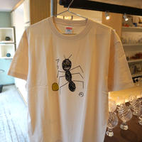 安西水丸 Tシャツ「アリ」