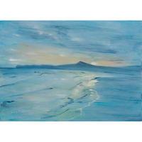 小池アミイゴ「豊間のビーチ」原画