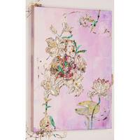 長谷川洋子 「花に包まれた母子」原画