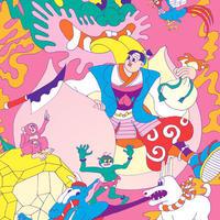山崎若菜「桃太郎」wakana yamazaki 「THE PEACH BOY」ジークレー版画