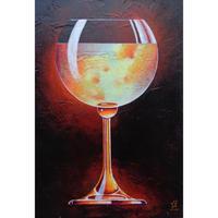 星野哲朗「sparkling wine」原画作品