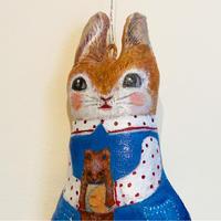 島袋千栄 カベドール「人見知りウサギ」shimabukuro chie