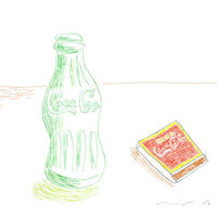 安西水丸「コーラとマッチ」mizumaru anzai