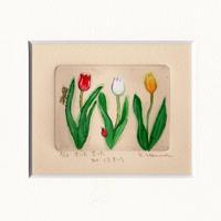 はんまけいこ「チューリップの花」