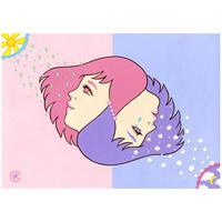 """竹井千佳「日はまた昇る」 """"The Sun Also Rises""""原画 chika takei"""