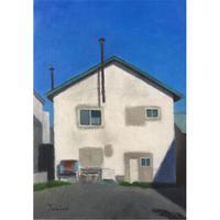 民野宏之 「白い家」原画