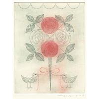 山田ミヤ「白い薔薇、赤い薔薇」