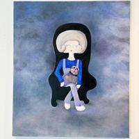 中村幸子「Black chair」原画
