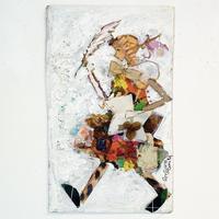 田村セツコ「すてきな旅人」原画  tamura setsuko
