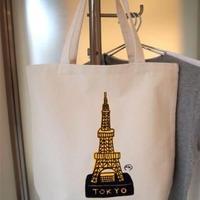 安西水丸グッズ「東京タワーBAG」