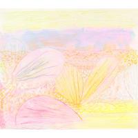 谷口広樹「花びらを羽にして」原画作品