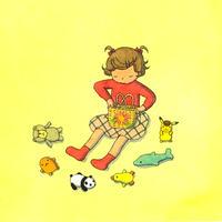 杉田比呂美「今日はだれとお出かけしよう」原画作品