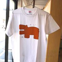 安西水丸Tシャツ「カバ」