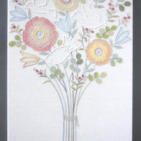 立川一美「鳥と花束」