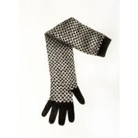 門川洋子「ChecKer Long Glove-b」(原画)
