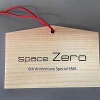 spaceZero 6周年記念「オリジナル絵馬」