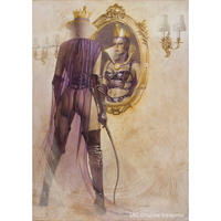 Hajime Sorayama Giclee Print #027