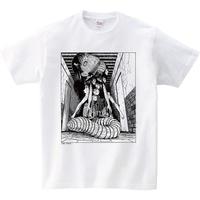 Junji Ito Tshirts A - YASHIKI White