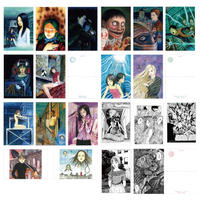Junji Ito Post-card Set ALL