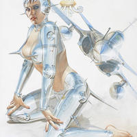 Hajime Sorayama Giclee Print #SP92