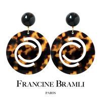 【FRANCINE BRAMLI PARIS フランシーヌ ブラムリ パリ】SIRLI SAイヤリング
