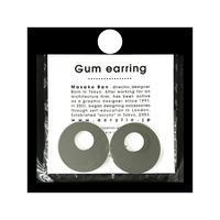 acrylic【サークル大 ミラー】GUM EARRING parts  アクリリック 坂雅子
