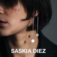 SASKIA DIEZ サスキアディーツ【2900499 SILVER】シルバーダンシングパイエットピアス NO2 925 Sterling silver
