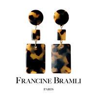 FRANCINE BRAMLI PARIS【eph_2420 イヤリング】クリップ式 フランシーヌブラムリパリ