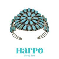 HARPO ハーポ【NAVAJO BRACELET BRW12】ナバホ ブレスレット フラワー