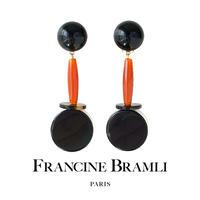 FRANCINE BRAMLI PARIS【eph2218 イヤリング】 クリップ式 フランシーヌブラムリパリ