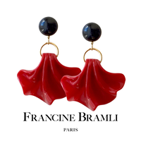 FRANCINE BRAMLI PARIS フランシーヌ ブラムリ パリ AMERIA ROUGE アメリア ルージュ イヤリング