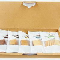 やさしい豆乳クッキー 5種類セット【げんきタウン】