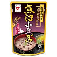 魚沼小豆かゆ ケース販売 2.5kg (250g✕10袋) 南魚沼産コシヒカリ 特別栽培米100%  小豆 [たいまつ] 新潟特選品シリーズ