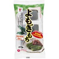 よもぎもち ケース販売 3.24kg (270g✕12袋) 国内産水稲もち米100% [たいまつ] 新潟特選品シリーズ