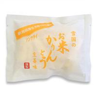 雪国の お米かりんとう 生姜味 ケース販売 40g×20袋入 ノンフライ [雪国のあられ ] 新潟特選品シリーズ