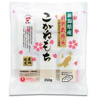 新潟県産こがねもち 特別栽培米 切り餅 ケース販売 4.2kg (350g✕12袋) 新潟産こがねもち100% たいまつ 新潟特選品シリーズ