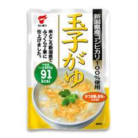 新潟 玉子かゆ ケース販売 2.5kg (250g✕10袋) 新潟県産コシヒカリ 100% [たいまつ] 新潟特選品シリーズ