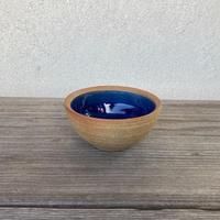 ボウル(4寸/約12cm)呉須・外焼締め (05)