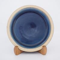 パン皿 (7寸/約21cm) 呉須(07)