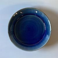 縁付平皿(8寸/約24㎝)呉須 (07)