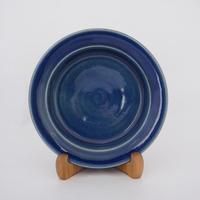 イタリー皿(7寸/約21㎝)呉須 (02)
