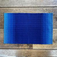 藍染 花風通織 ランチョンマット グラデーション (a-4)