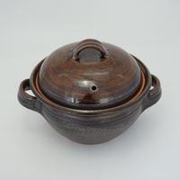 土鍋 (ご飯炊きタイプ/小)